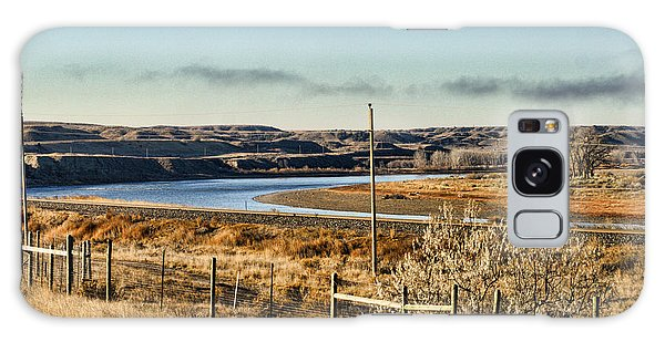 Yellowstone River View Galaxy Case