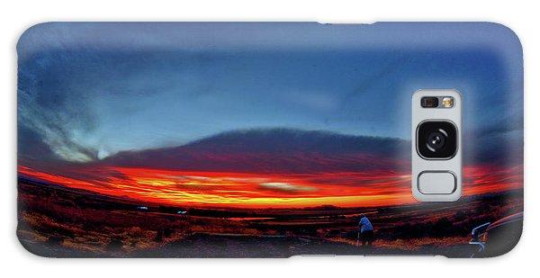 Yellowstone Sunset Galaxy Case
