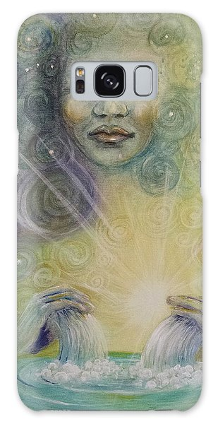 Yemaya - Water Goddess Galaxy Case