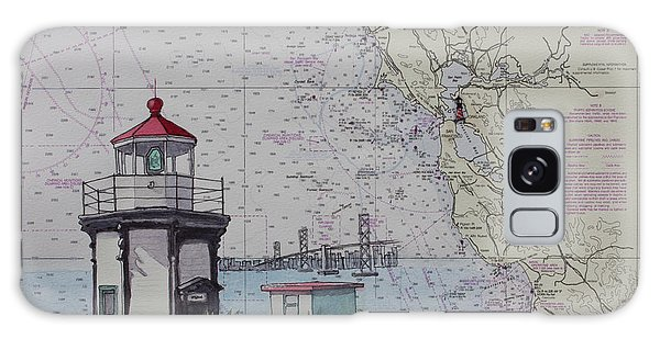 Yerba Buena Island Lighthouse Galaxy Case