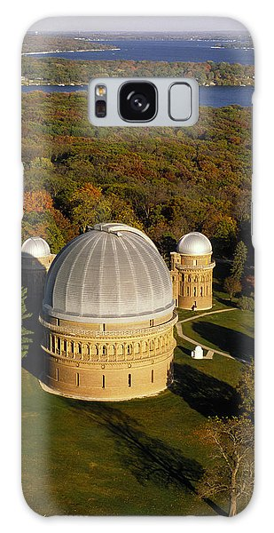 Yerkes Observatory - Aerial View - Lake Geneva Wisconsin Galaxy Case