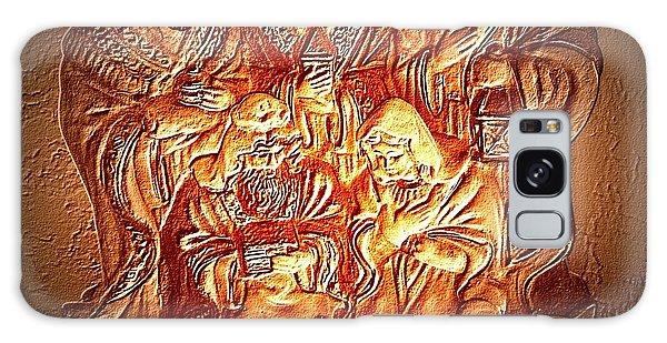 Yeshu'a  Galaxy Case by Carlos Avila