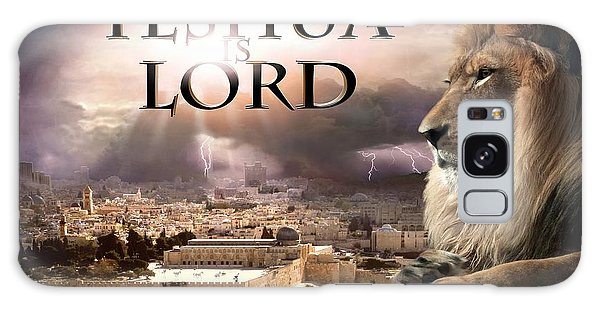 Yeshua Is Lord Galaxy Case by Bill Stephens