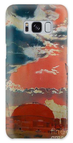 Yin And Yang Galaxy Case by Elizabeth Carr