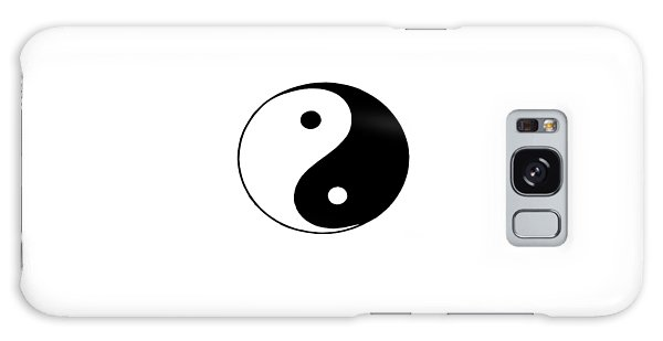 Yin And Yang Galaxy Case