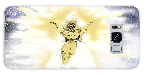 Yoda Budda Galaxy Case