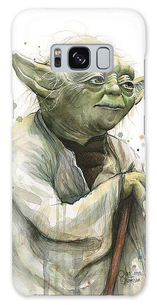 Nerd Galaxy Case - Yoda Watercolor by Olga Shvartsur