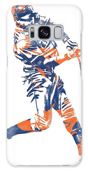 Yoenis Cespedes New York Mets Pixel Art 1 Galaxy Case