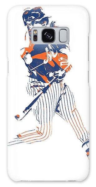 Yoenis Cespedes New York Mets Pixel Art 2 Galaxy Case