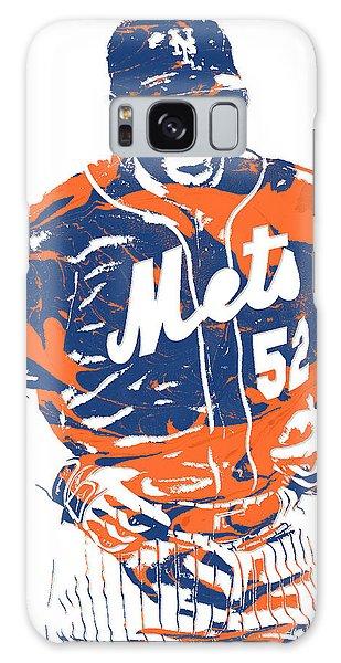 Yoenis Cespedes New York Mets Pixel Art 3 Galaxy Case