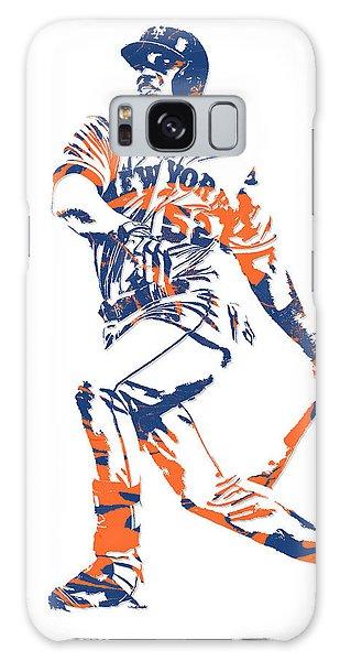 Yoenis Cespedes New York Mets Pixel Art 4 Galaxy Case
