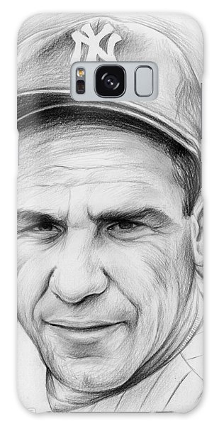 Baseball Galaxy Case - Yogi Berra by Greg Joens
