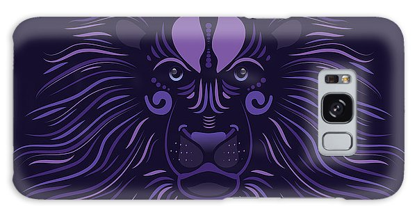 Yoni The Lion - Dark Galaxy Case by Serena King