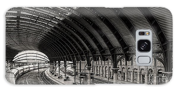 York Railway Station Galaxy Case