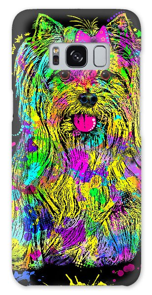 Yorkie Beauty Galaxy Case