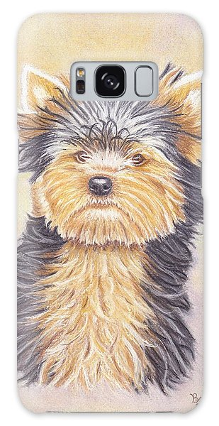 Yorkie Puppy Galaxy Case