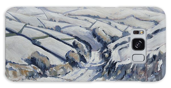 Galaxy Case - Yorkshire In The Snow by Nop Briex