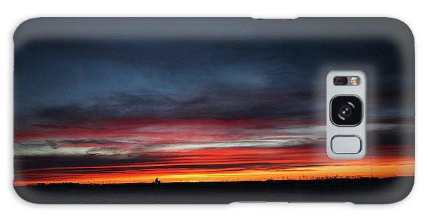 Yorkton Sunrise Galaxy Case