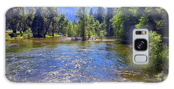 Yosemite River At Ease Galaxy Case