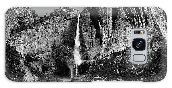 Yosemite Black Falls  Galaxy Case