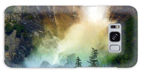 Yosemite Bridalveil Fall Rainbow Galaxy Case by Jeff Lowe