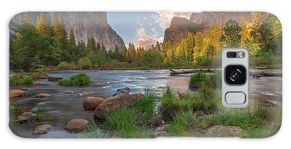Yosemite Evening Galaxy Case