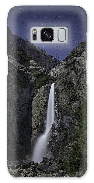 Yosemite Falls At Night Galaxy Case