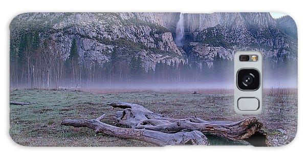 Yosemite Falls Driftwood Galaxy Case