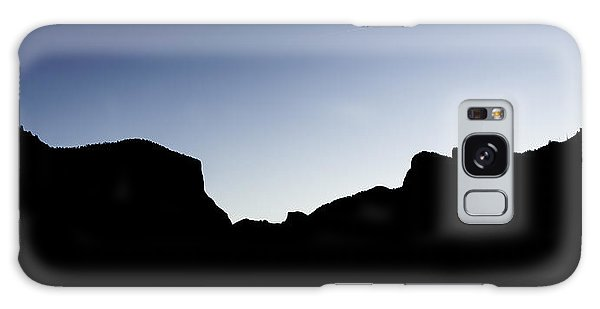Yosemite In Silhouette Galaxy Case