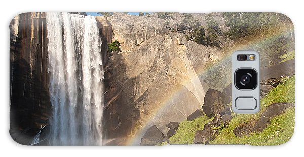 Yosemite Mist Trail Rainbow Galaxy Case by Shane Kelly