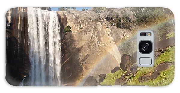 Yosemite Mist Trail Rainbow Galaxy Case
