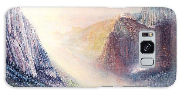 Yosemite Morning Galaxy Case