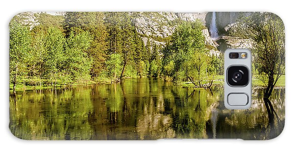 Yosemite Reflections On The Merced River Galaxy Case
