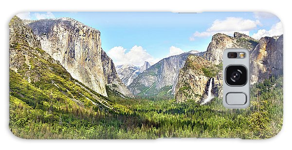 Yosemite Tunnel View Afternoon Galaxy Case