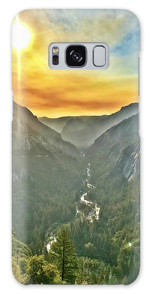 Yosemite Tunnel View Galaxy Case