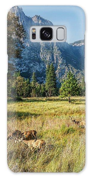 Yosemite Valley At Yosemite National Park Galaxy Case