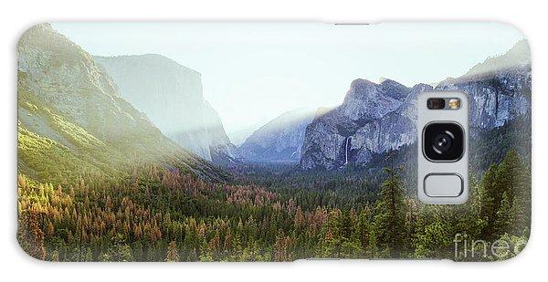 Yosemite Valley Awakening Galaxy Case by JR Photography