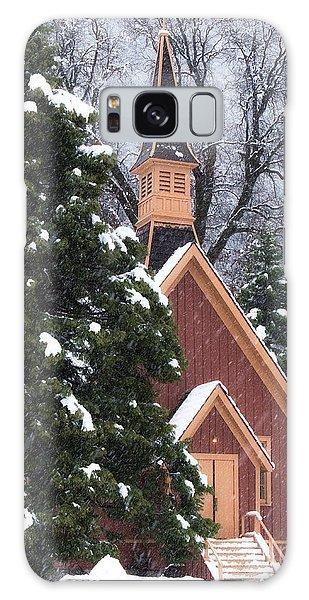 Yosemite Valley Chapel  Galaxy Case