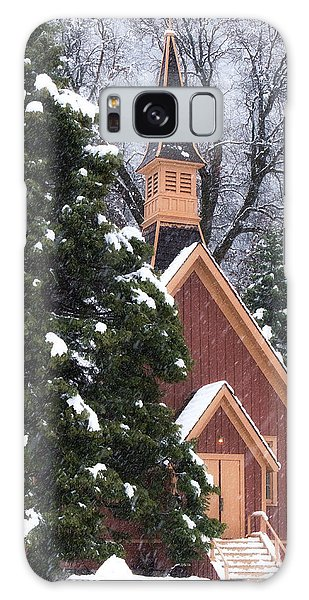 Yosemite Valley Chapel  Galaxy Case