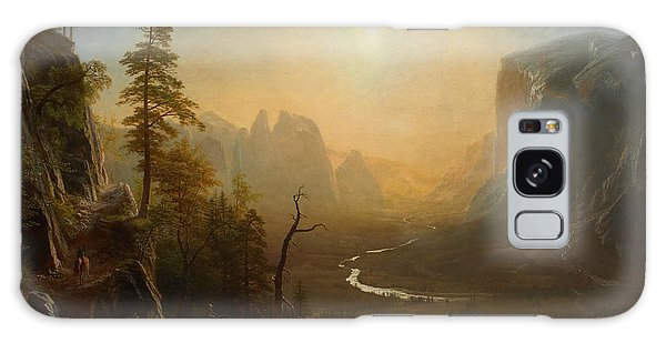 Yosemite Valley Glacier Point Trail Galaxy Case by Albert Bierstadt