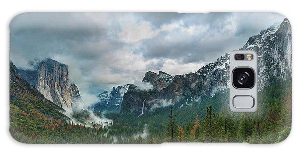 Yosemite Valley Storm Galaxy Case