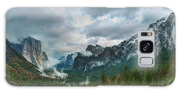 Yosemite Valley Storm Galaxy Case