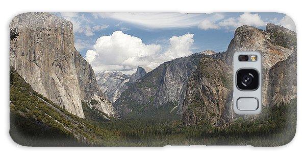 Yosemite Valley - Tunnel View Galaxy Case