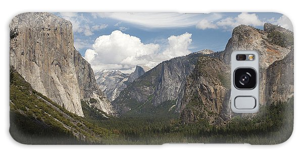 Yosemite Valley - Tunnel View Galaxy Case by Harold Rau