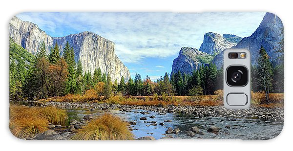 Yosemite Valley View Galaxy Case
