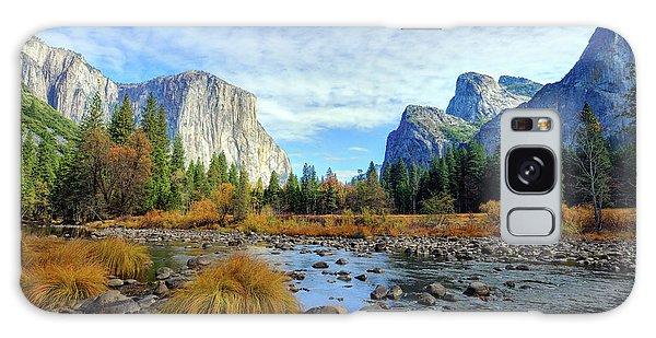 Yosemite Valley View Galaxy Case