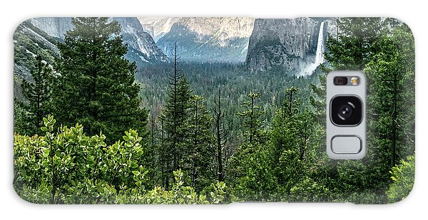 Last Light For Tunnel View Galaxy Case