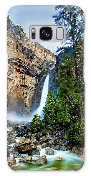 Yosemite National Park Galaxy S8 Case - Yosemite Waterfall by Az Jackson