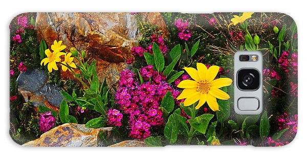 Yosemite Wildflowers Galaxy Case
