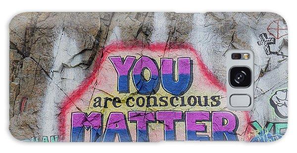 You Are Conscious Matter Galaxy Case